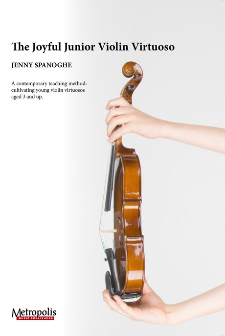 Spanoghe - The Joyful Junior Violin Virtuoso (English version) - VL7339EM