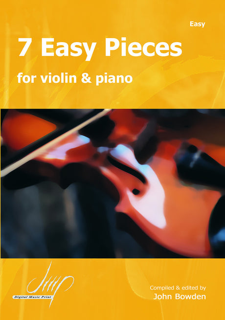 7 Easy Pieces for Violin and Piano - VLP10528DMP