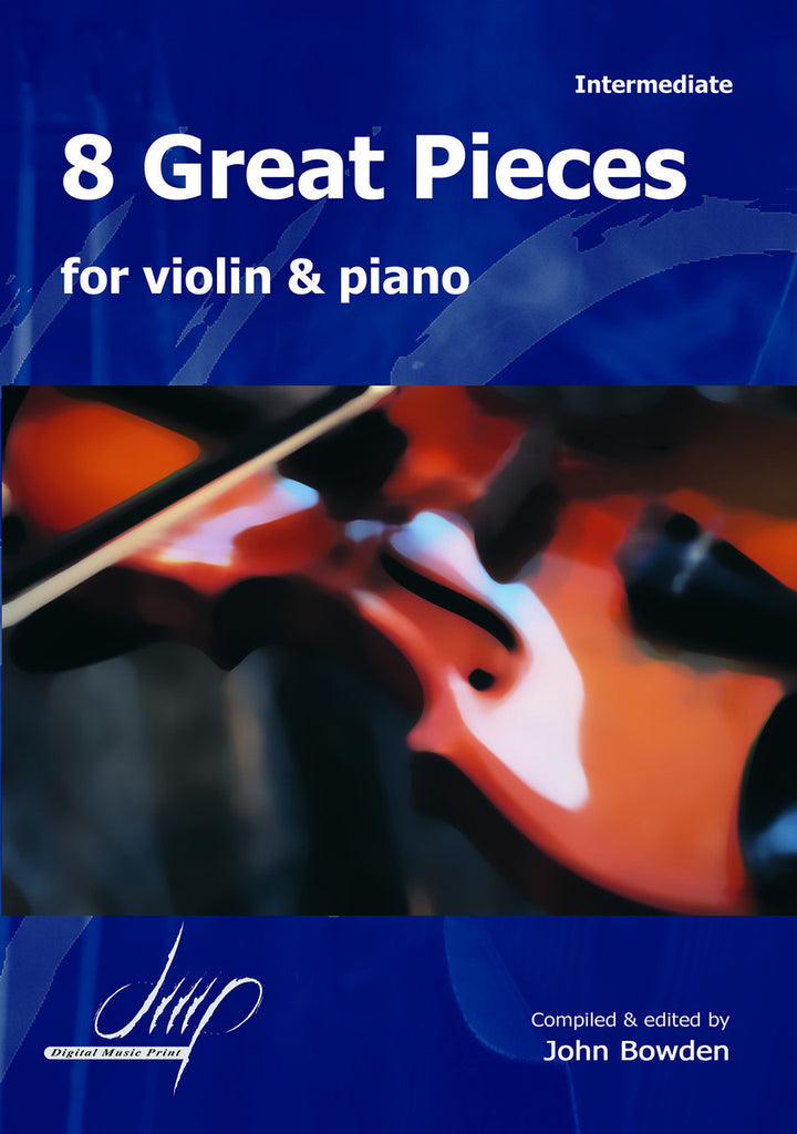 8 Great Pieces for Violin and Piano - VLP10534DMP