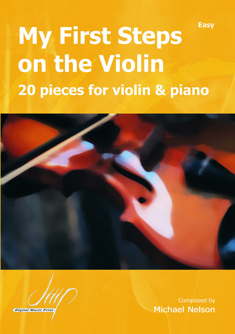 Nelson - My First Steps on the violin - VLP108038DMP