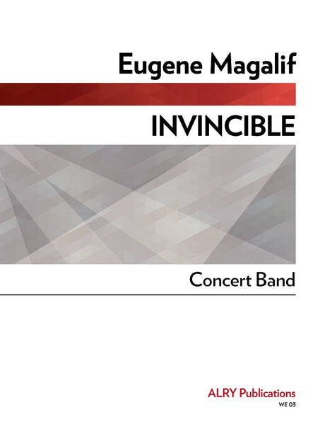 Magalif - Invincible (Concert Band) - WE03