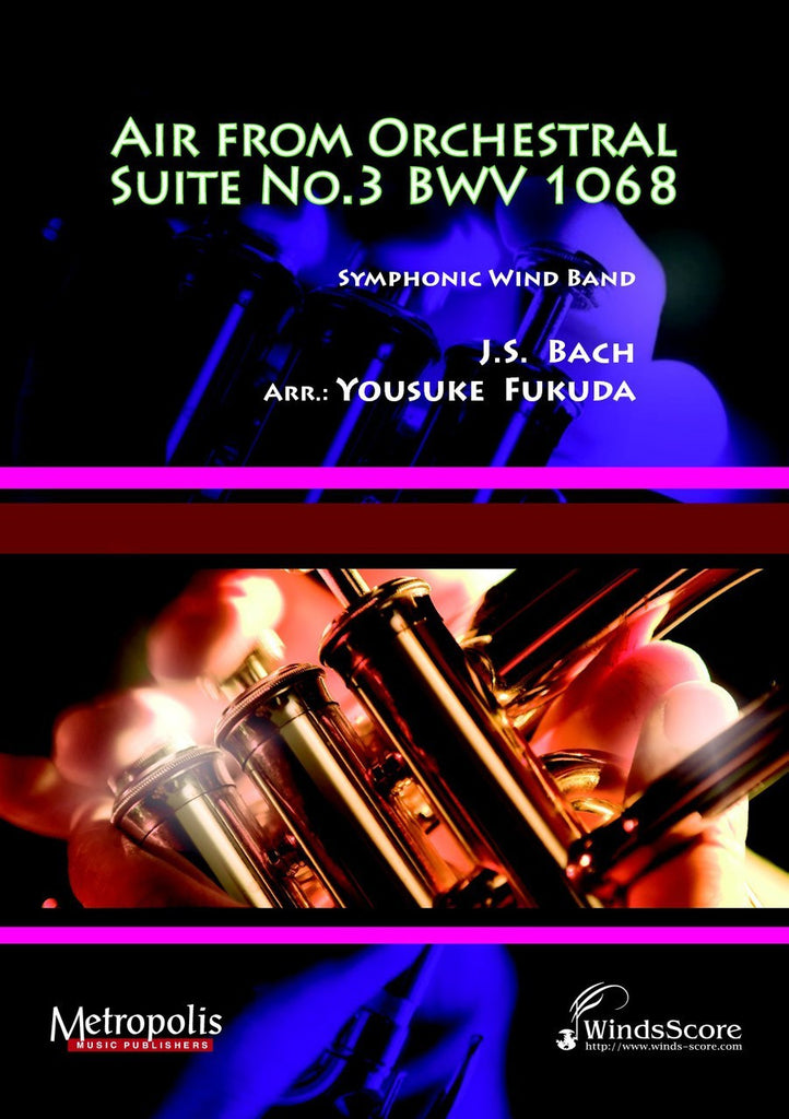Bach - Air from Orchestral Suite No.3 BWV 1068 (arr. Fukuda) - WE6199EM