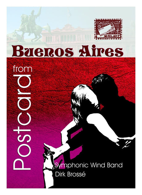 Brosse - Postcard from Buenos Aires (Full Score Only) - WE6436SEM