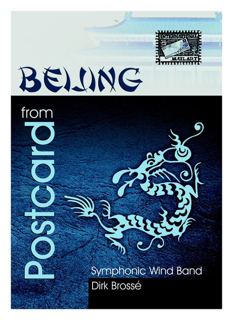 Brosse - Postcard from Beijing (Full Score and Parts) - WE6437EM