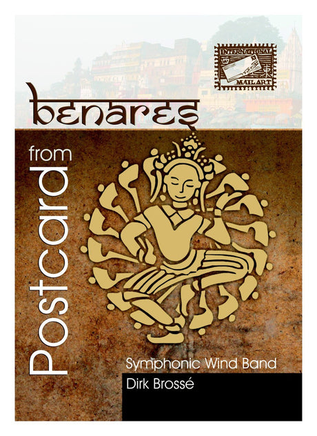 Brosse - Postcard from Benares (Full Score Only) - WE6438SEM