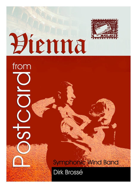 Brosse - Postcard from Vienna (Full Score Only) - WE6439SEM