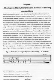 Watts - Spectral Immersions: A Comprehensive Guide to the Theory and Practice of Bass Clarinet Multiphonics - BC6917EM