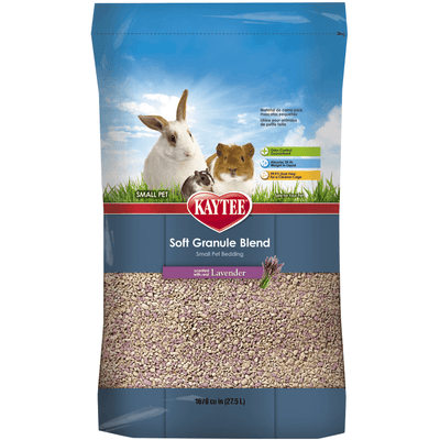 Kaytee Soft Granule Blend Lavender Bedding for Pet Cages