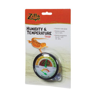 Zilla Humidity & Temperature Gauge