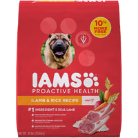 Iams ProActive Health Adult Lamb Meal and Rice Formula Dry Dog Food