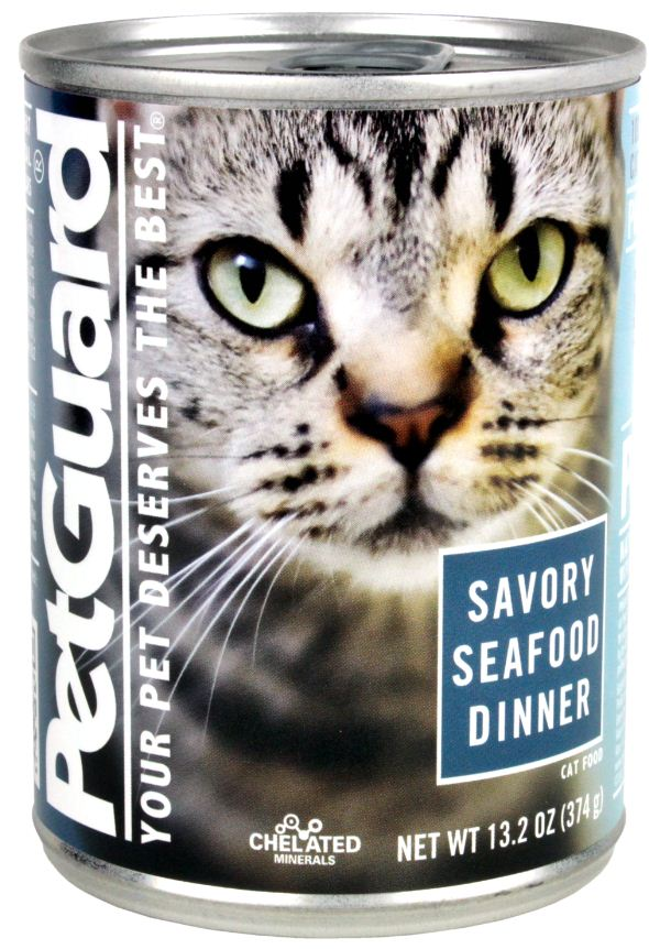 Petguard Savory Seafood Dinner Canned Cat Food