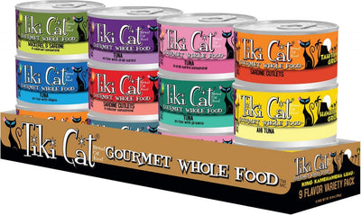 Tiki Cat King Kamehameha Luau Variety Pack Canned Cat Food
