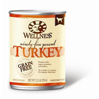 Wellness Natural Grain Free 95% Turkey Recipe Adult Wet Canned Dog Food