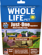 Whole Life Originals Pure Meat 100% Beef Liver Treats