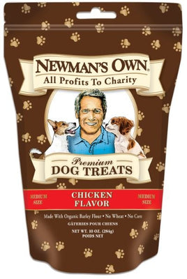 Newman's Own Organics Chicken Formula Medium Size Dog Treats