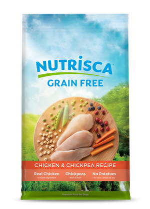 NUTRISCA Grain Free Chicken and Chickpea Recipe Dry Dog Food