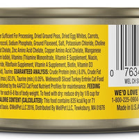 Wellness Grain Free Natural Sliced Turkey Entree Canned Cat Food