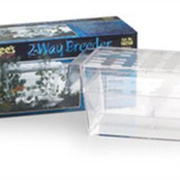 Lee's Aquarium Two Way Guppy Breeder Boxed