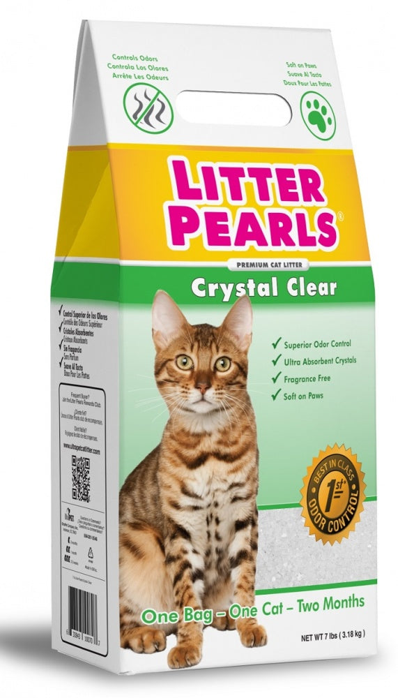 Ultra Pet Litter Pearls Crystal Clear Cat Litter