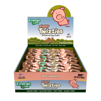 Emerald Pet Piggy Twizzies Natural Dog Chew