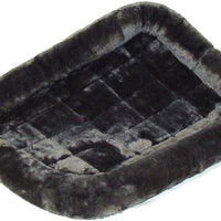Midwest Quiet Time Gray Fleece Pet Bed
