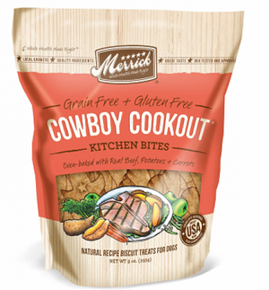 Merrick Cowboy Cookout Kitchen Bites Dog Treats