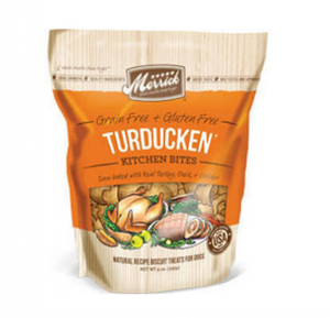 Merrick Turducken Kitchen Bites Dog Treats