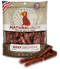 Loving Pets Natural Value Beef Sausages Dog Treats