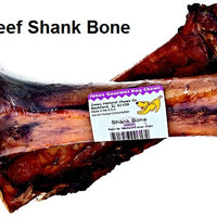 Jones Natural Chews Beef Shank Bone Dog Treat