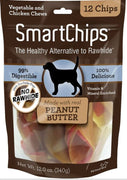 SmartBones SmartChips Peanut Butter Chews Dog Treats