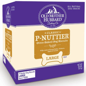 Old Mother Hubbard Crunchy Classic Natural P-Nuttier Assorted Flavor Dog Biscuits