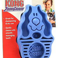 KONG ZoomGroom Brush for Dogs and Puppies