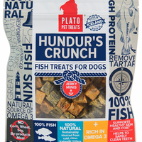 Plato Hundur's Grain Free Crunch Jerky Minis Dog Treats