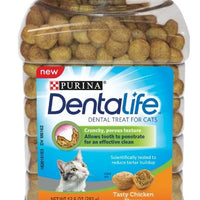 Purina Dentalife Adult Tasty Chicken Flavor Cat Dental Treats