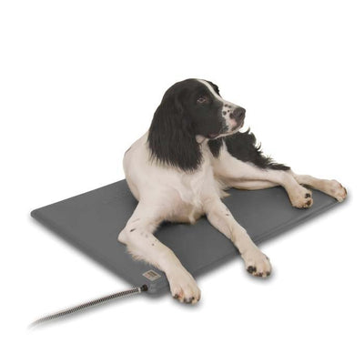 K&H Pet Products Deluxe Gray Lectro-Kennel