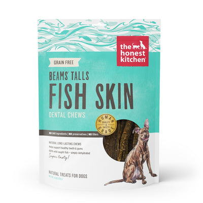 The Honest Kitchen BEAMS TALLS Wild Caught Fish Skins Chews for Dogs