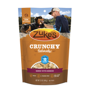 Zukes Crunchy Naturals Baked with Berries 10s Dog Treats