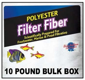 Blue Ribbon Pet Products ABLPLY10 Polyester Floss Bulk Filter Media, 10-Pound