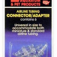 Lee's Pet Products 6-Card Airline Connectors for Aquarium Pumps