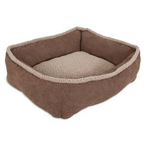 Aspen Shearling Tan Lounger