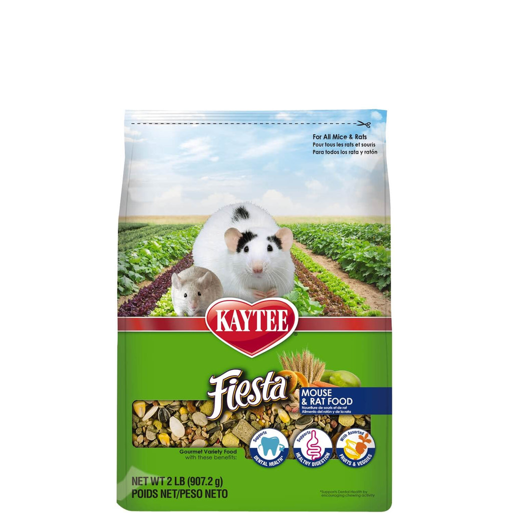 Kaytee Fiesta Mouse and Rat Food 2 Pound
