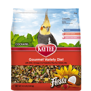 Kaytee Fiesta Cockatiel Food 4.5 Pound