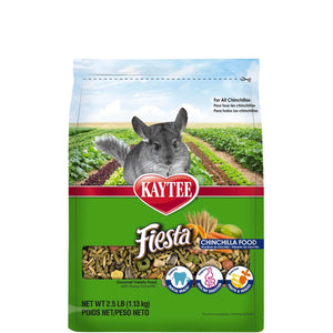 Kaytee Fiesta Chinchilla Food 2.5 Pound