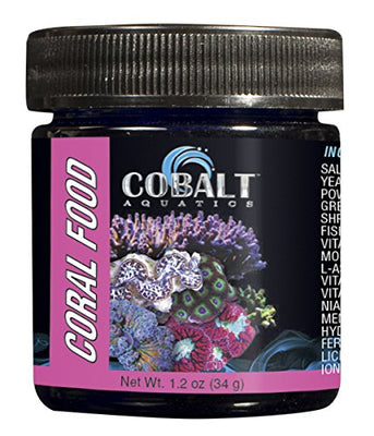 Cobalt Aquatics Coral Food Powder, 1.7 oz