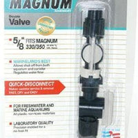 "Marineland Magnum Quick Disconnect Double Valve 5/8"" 1 pk (PA0588)"