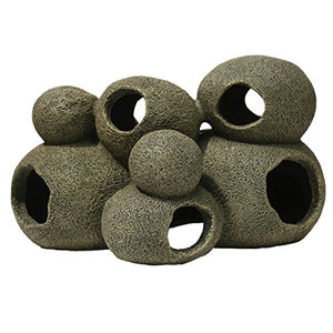 Blue Ribbon Exotic Environments Swim-Through Stone Pile - Large