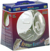 "Lee's Mini Kritter Krawler Ball 4"" Dia (Clear)"