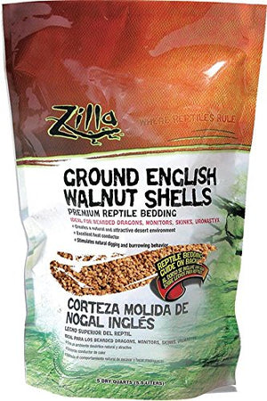 Zilla English Walnut Shell Ground