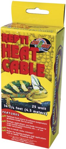 Zoo Med Repticare Heat Cable 25 Watt 14.75 Ft.