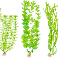 Marineland Tall Plastic Plant Assortment B1 3pk